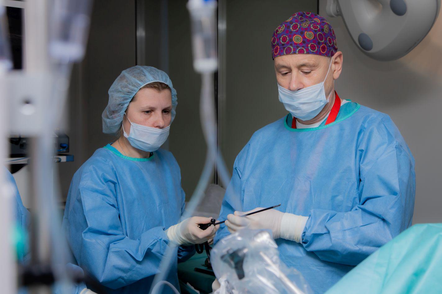 Лапароскопическое бандажирование желудка