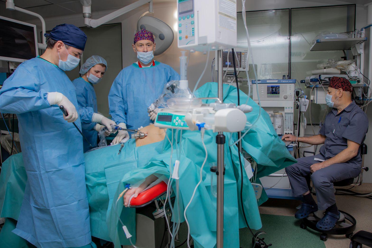 Как проходит бариатрическая операция